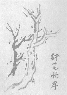 国画山水画画树的顺序(简单概述)